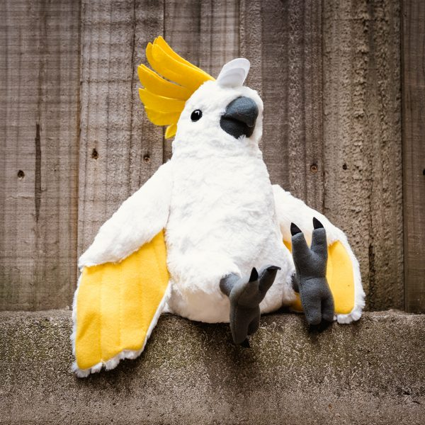 Sulphur-crested Cockatoo Soft Toy
