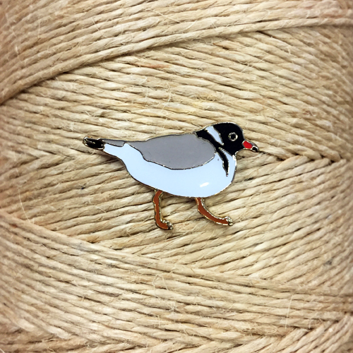 Hooded Plover Pin Badge