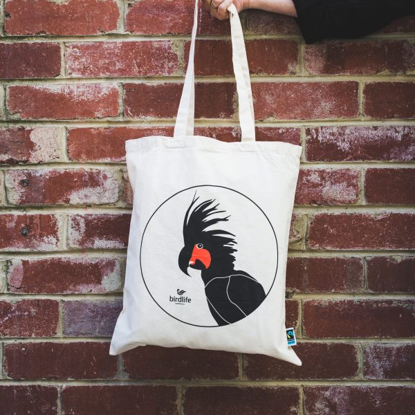 Palm Cockatoo Tote Bag