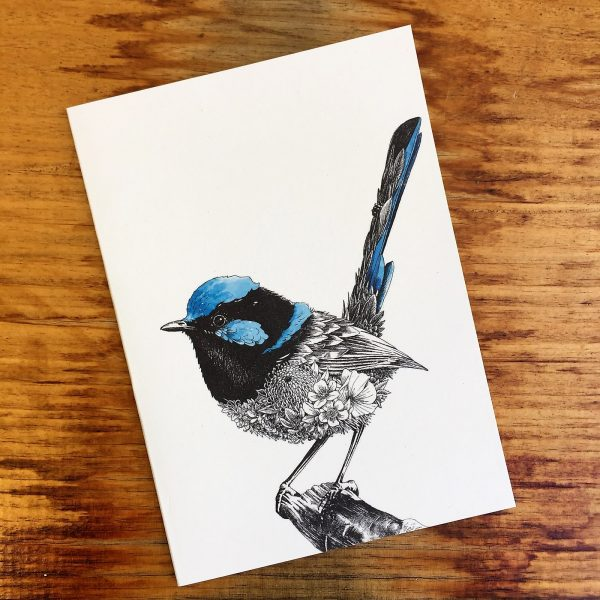 Superb Fairy-wren Gift Card