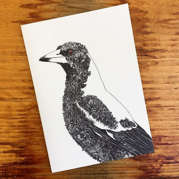 Australian Magpie Gift Card